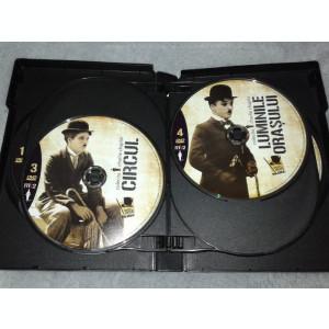 Colectie filme Charlie Chaplin - 8 DVD subtitrate romana