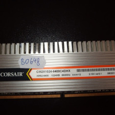 Memorie RAM 1GB DDR2 PC desktop Corsair 800MHZ ( 1 GB DDR 2 ) (BO648)