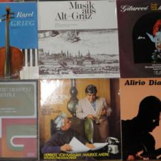 Vinil muzica clasica 3 chitara, pian, tango, Schubert, Berlioz, Liszt