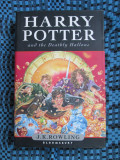 J. K. ROWLING - HARRY POTTER AND THE DEATHLY HALLOWS (first edition, U.K., 2007)
