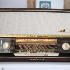 Radio lampi Loewe Opta Venus Stereo type 5781W, complet restaurat - Aparat radio