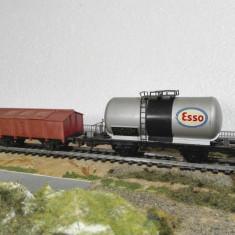 Set doua vagoane roco & lima scara ho - Macheta Feroviara Lima, 1:87