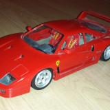 Macheta Ferrari F40, scara 1:18