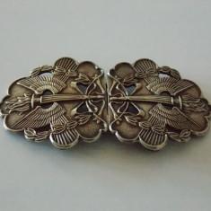 Catarama de curea argint vintage - 1792