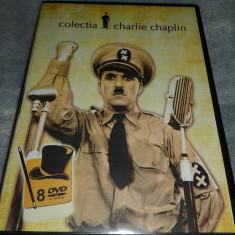 Colectie filme Charlie Chaplin - 8 DVD subtitrate romana - Film Colectie
