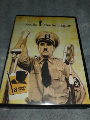 Colectie filme Charlie Chaplin - 8 DVD subtitrate romana foto
