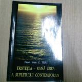 TRISTETEA -RANA GREA A SUFLETULUI CONTEMPORAN-PREOT IOAN C. TESU