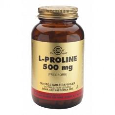 L-Proline 500mg 100 veg caps, Solgar