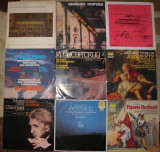 Vinil muzica clasica 5 Mozart,Karajan,Brahms,Domingo,Brahms,Vivaldi,Fidelio