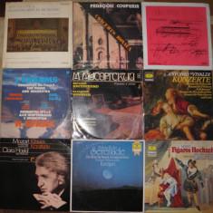 Vinil muzica clasica 5 Mozart, Karajan, Brahms, Domingo, Brahms, Vivaldi, Fidelio