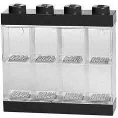 Cutie neagra pentru 8 minifigurine LEGO