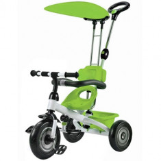 Tricicleta 3Cycle Green - Tricicleta copii