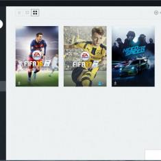 Cont Origin cu 3 jocurii (FIFA 16, FIFA 17, NEED FOR SPEED )