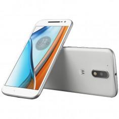 Smartphone Motorola Moto G4 Play Dual Sim 5 Inch Quad Core 16 GB 4G Alb - Telefon Motorola