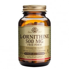 L-ORNITHINE 500mg 50cps, Solgar - Supliment sport