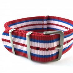 18mm, 20mm, 22mm curea ceas NATO catarama normala - Curea ceas material textil