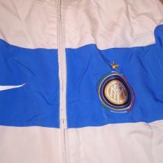 GEACA NIKE FIT DRY XXL FC BARCELONA - Geaca barbati Nike, Culoare: Alb