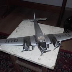 Macheta avion( model Lufthansa D-AQUI) - Macheta Aeromodel UM, 1:720