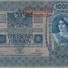 BANCNOTE GERMANIA, 1000 MARCI, EMISA 2 IANUARIE 1902, XF + - bancnota europa