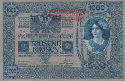 BANCNOTE GERMANIA , 1000 MARCI ,  EMISA 2 IANUARIE 1902 ,  XF + foto