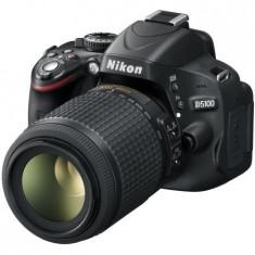 Nikon DSLR D5100+ Obiectiv 55-200mm+2 carduri memorie+2 acumulatori+incarcator - Aparat Foto Nikon D5100