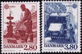 Europa-cept 1986 - Danemarca 2v.neuzat,perfecta stare(z)