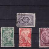 ROMANIA 1930 , LP 85 , RECENSAMANTUL POPULATIEI  SERIE STAMPILATA