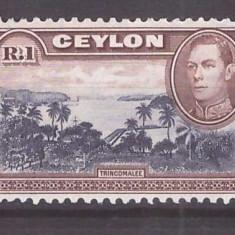 Ceylon 1938 - R.1 neuzat MNH - Timbre straine