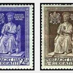 Irlanda 1950 The Holy Year serie nestampilata cinompleta