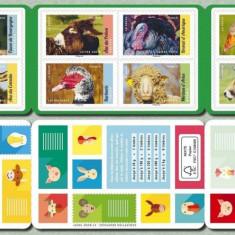 FRANTA 2017 ANIMALE DOMESTICE - Timbre straine, Nestampilat