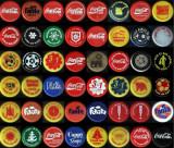 Colecţie 48 capace Coca Cola româneşti