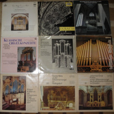 Vinil muzica clasica 2 Grieg, trompeta, Vivaldi, Schubert, Grieg, Berlioz, orga Bach