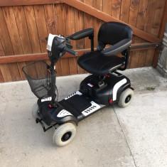 NOU carut carucior scuter electric pentru persoane cu handicap batrani copii - Scaun cu rotile