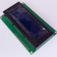 LCD Display 2004 / 20X04 / 20x4 caractere afisaj albastru Arduino