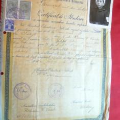 Diploma de Absolvire a Cursului Secundar Teoretic Inferior - foto Cercetas 1939 - Diploma/Certificat
