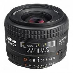 Nikon 35 mm F2 AF-D in stare exceptionala, aproape nou - Obiectiv DSLR