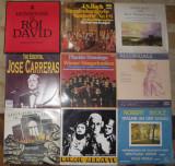 Vinil muzica clasica 6 J Carreras,Ruha,Arnautu,Domingo,Solistii operei Timisoara