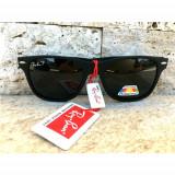 Ochelari De Soare Ray Ban Wayfarer Negru Mat Polarizati   +Toc +Saculet + Laveta