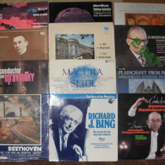 Vinil muzica clasica 1 Lalo, Ravel, Berlioz, coruri, tangouri, Strauss + lista