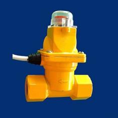 Aproape nou: Electrovalva GAZ DCF-80 3/4 din metal pt. exterior - Sisteme de alarma