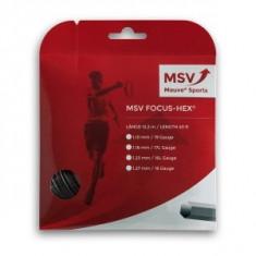 Racordaj MSV Focus-Hex 12m - 1.23mm - Racordaj racheta tenis