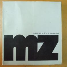 Muzeul de arta K. H. Zambaccian catalog Bucuresti 1973