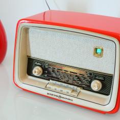 Radio lampi Loewe Opta Bella Luxus type 4714W, complet restaurat - Aparat radio