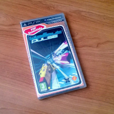 Joc UMD pt PSP - Wipeout Pulse, nou, sigilat - Jocuri PSP Sony, Curse auto-moto, 12+, Single player