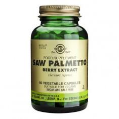 Saw Palmetto Berry Extract 60cps, Solgar - Produs tratarea prostatei
