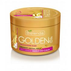 GOLDEN OILS Unt de corp ultranutritiv cu Argan, Perilla si Abyssinian 200ml, Bielenda