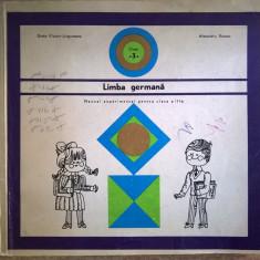 Limba germana Manual experimental pentru clasa a III-a - Carte in germana