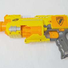 Jucarie pusca NERF Barricade RV-10 electrica cu baterii - Pistol de jucarie nerf, 4-6 ani, Plastic, Unisex