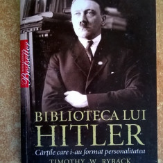 Timothy W. Ryback – Biblioteca lui Hitler - Istorie