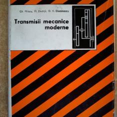 Gh. Miloiu, s.a. - Transmisii mecanice moderne